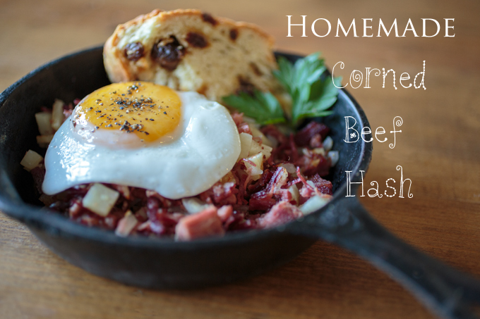 Homemade Corned Beef Hash