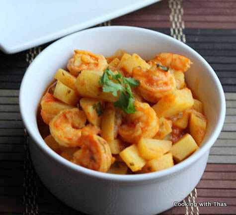 Shrimp and Potato Curry