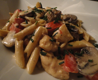 Pasta Marco Pollo… recipe and wine pairings