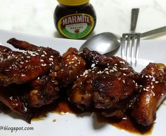 妈密鸡翅 ~ Marmite Chicken Wings
