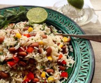 Mexican Rice and Beans Salad