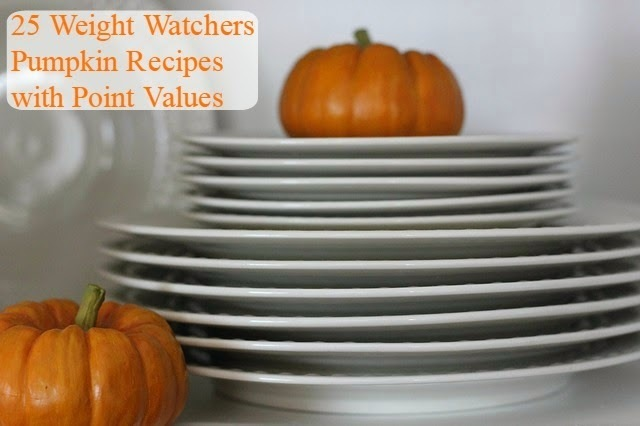 25 Weight Watchers Pumpkin Recipes With Point Values