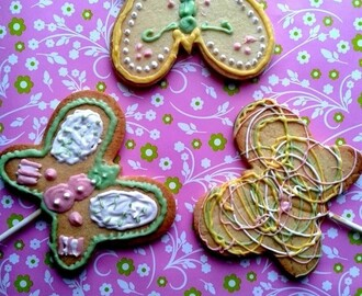 Cookies pops papillon