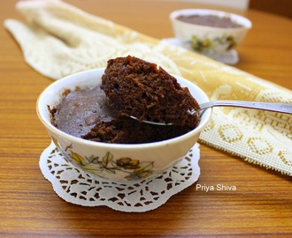 Eggless Mug Cake / Eggless Chocolate Coffee Mug cake
