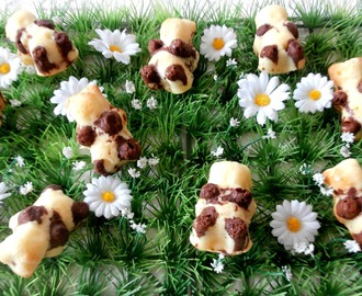 Oursons fourrés au Nutella ( Teddybears stuffed with Nutella)
