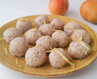soft, sweet and flavourful Indian coconut ladoo