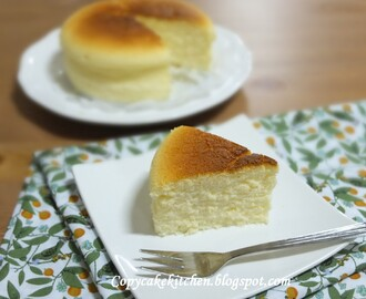 Cotton Soft Cheesecake (轻乳酪蛋糕) Bake-Along #46