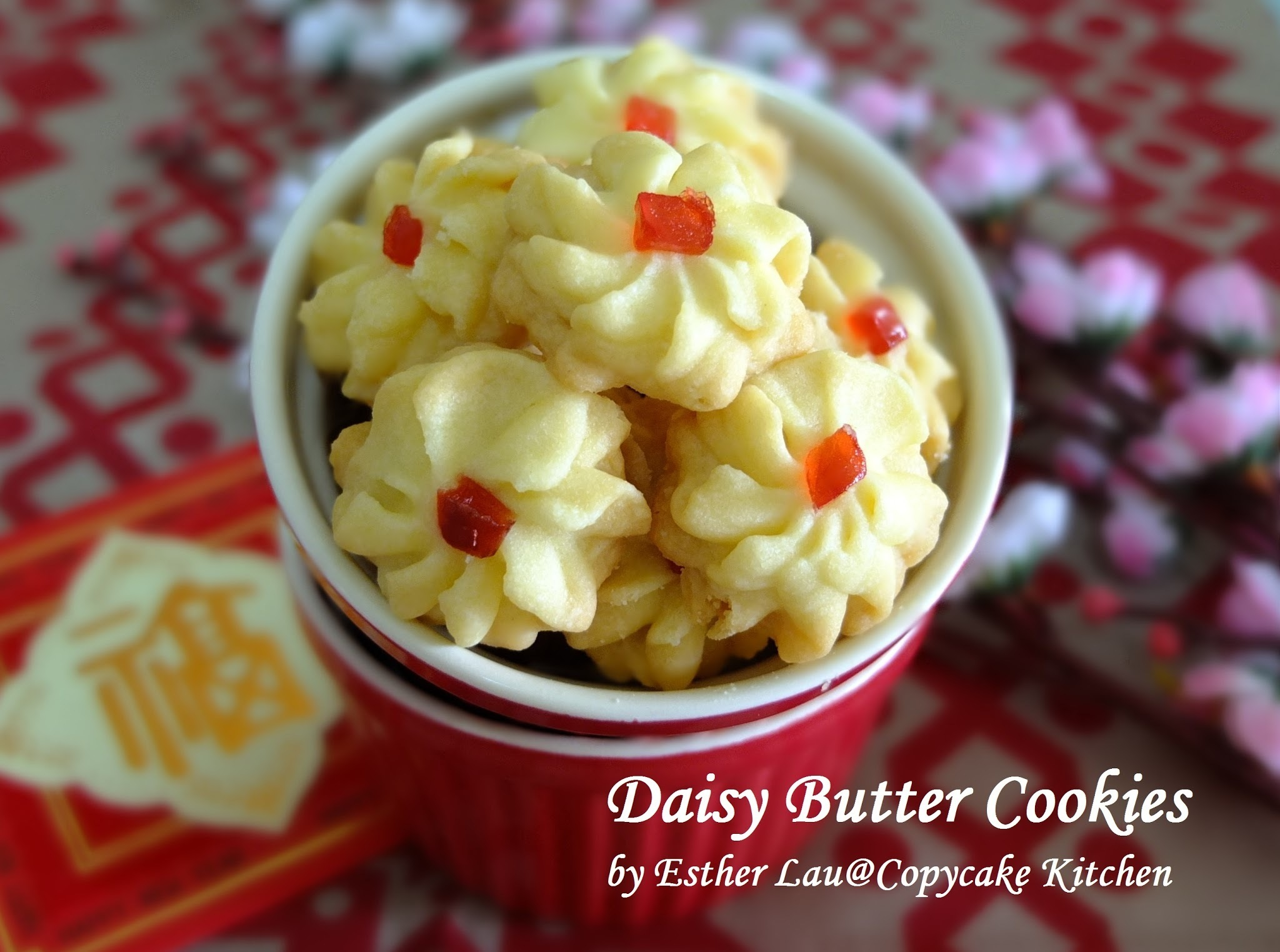 Daisy Butter Cookies (雏菊牛油饼)