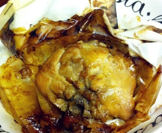 烤箱纸包鸡~Oven baked chicken with papilotte