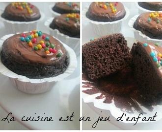 Muffins tout chocolat (recette 8/8)