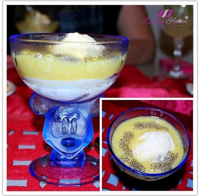 Bejewelled Mango Puree with Chia Seeds Dessert ( 珠光宝气芒果泥 )