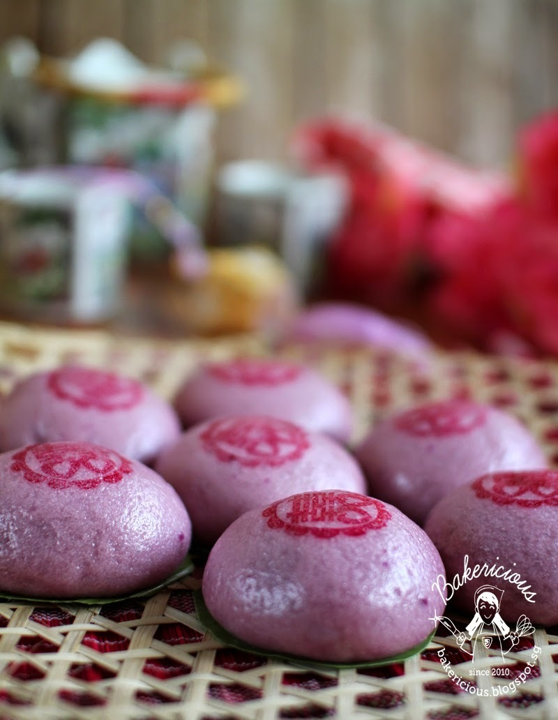 Purple Sweet Potato Hee Pan 紫薯喜粄