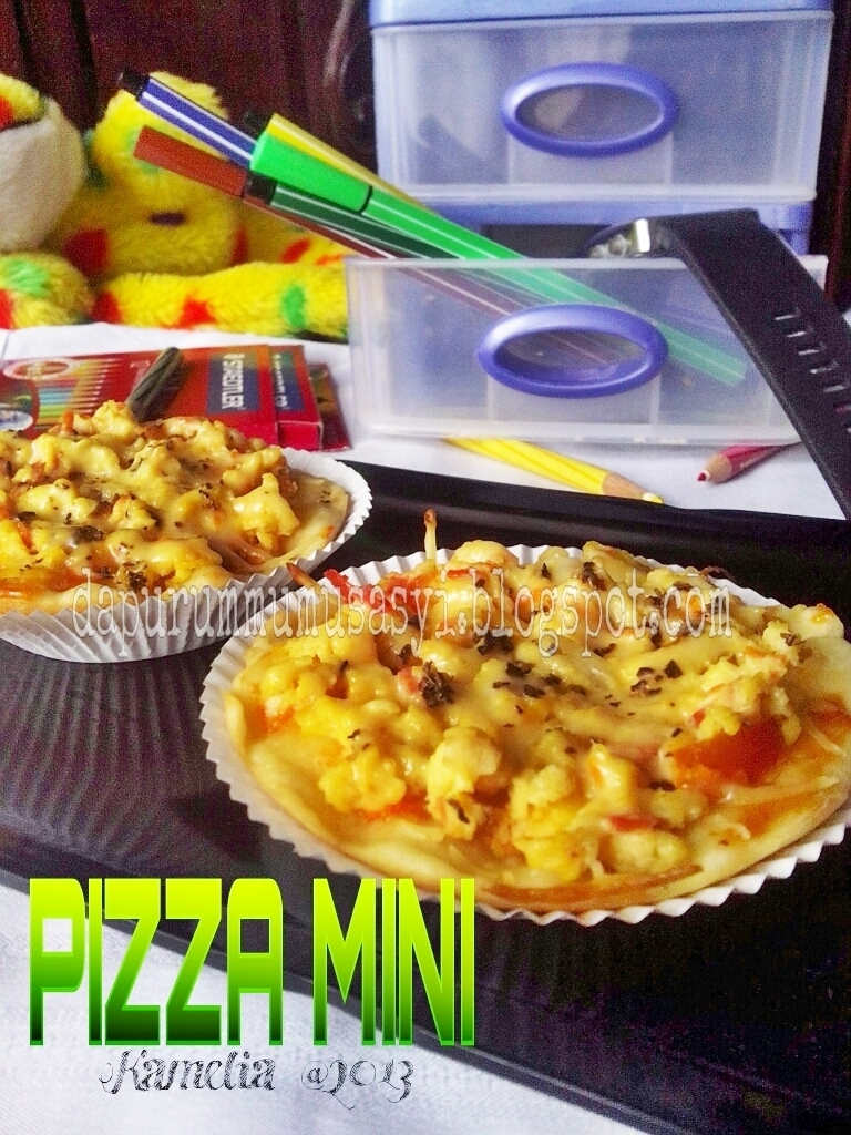 Pizza Mini Topping Orak-Arik Telor & Jagung