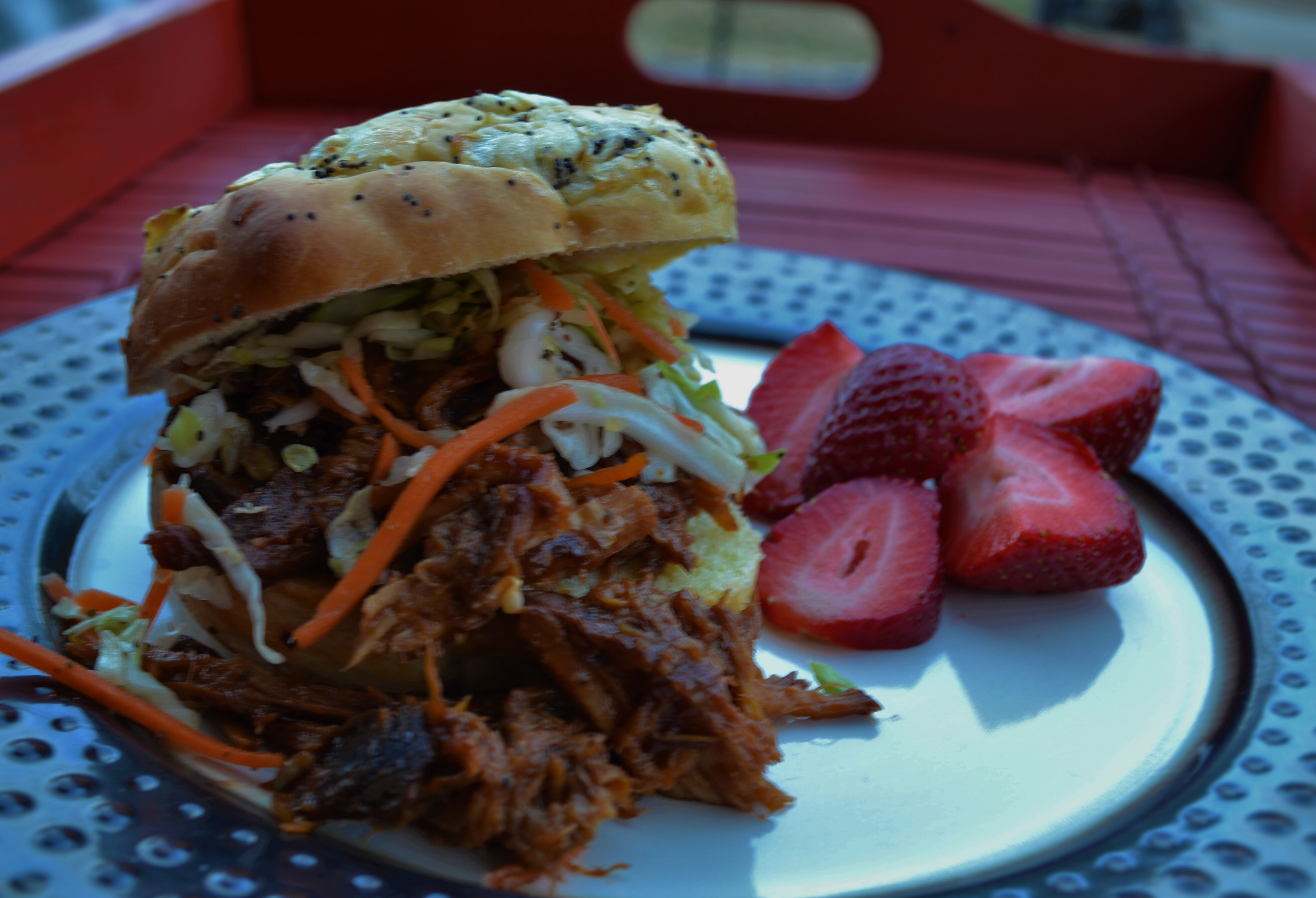 Easy Crock Pot Bar-B-Que Pulled Pork for a Hungry Bunch!