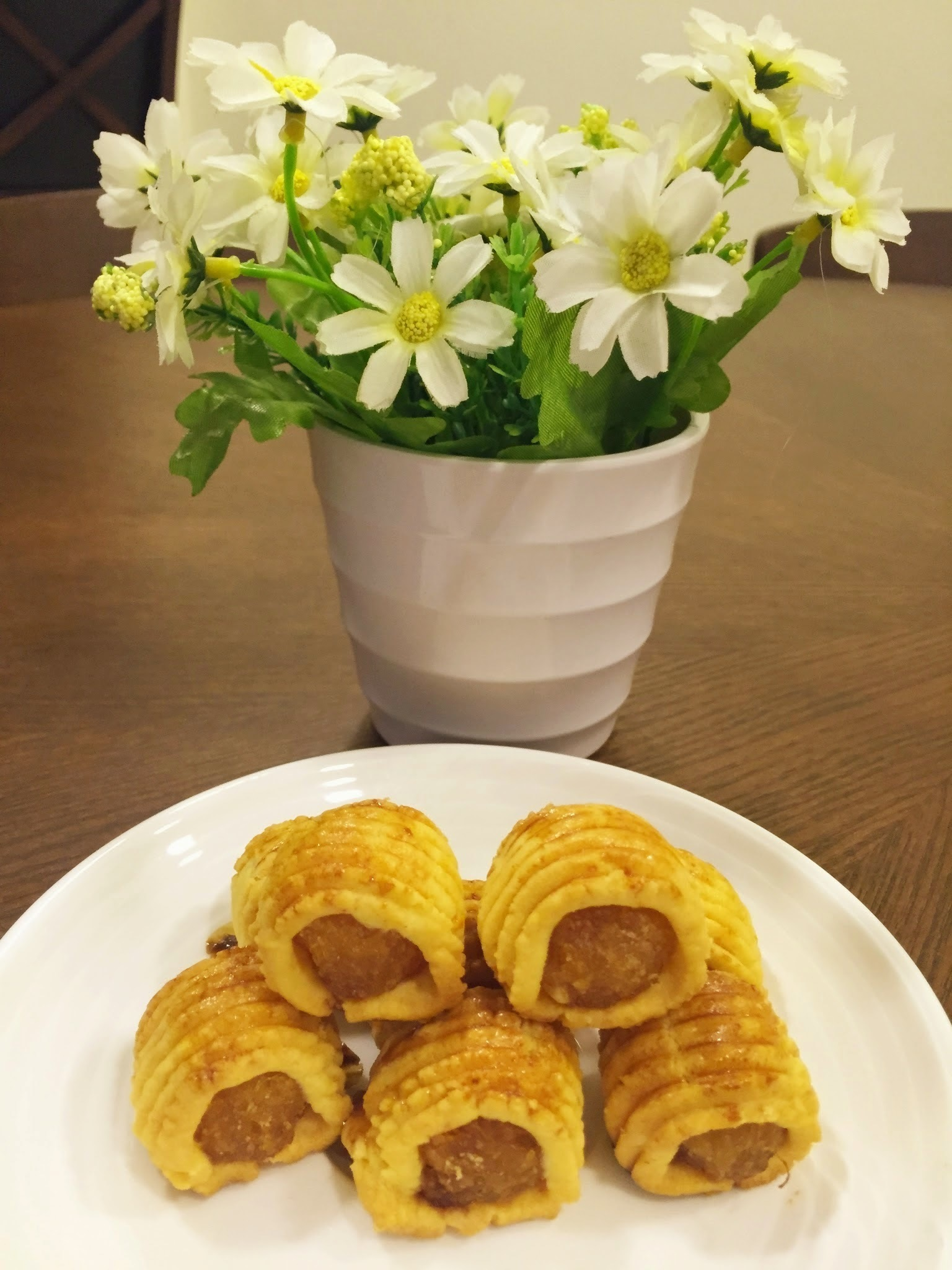 Cheesy pineapple tarts(芝士凤味黄金球)