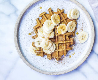 Paleo Tigernut Waffles (AIP-friendly, Egg-free, Vegan)