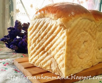 杏仁全麦土司 (Almond Whole Grain Loaf Bread)