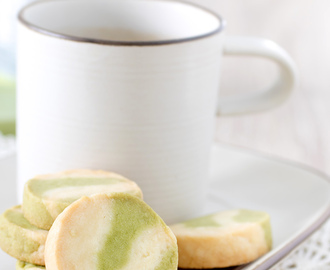 GREEN TEA MARBLE COOKIES