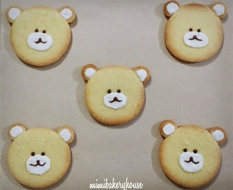 ☆Cute Teddy Bear Cookies☆