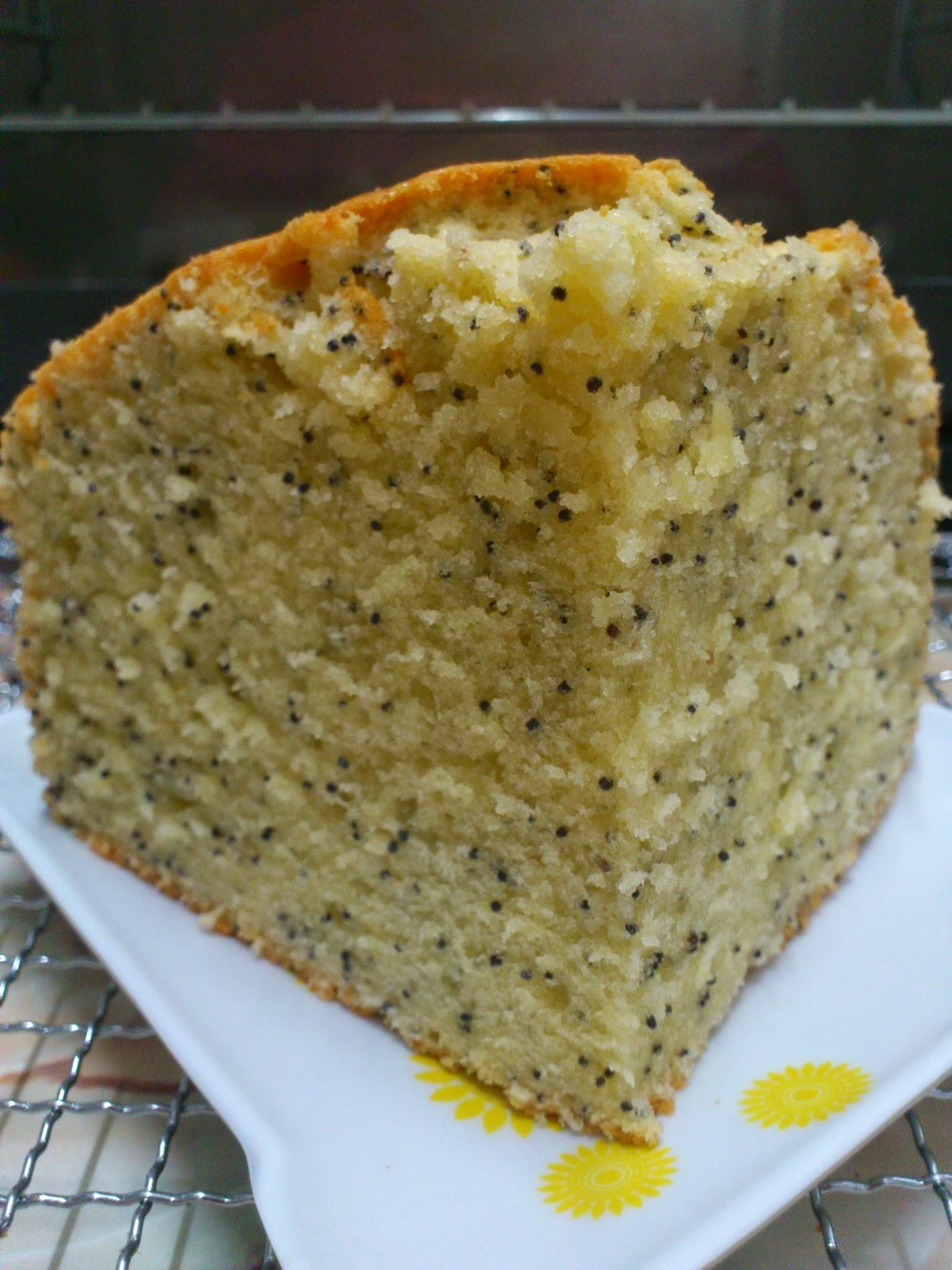 Poppy Seed Butter Cheese Cake