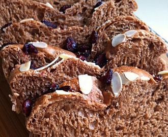 Chocolate Cinnamon Wholemeal Bread