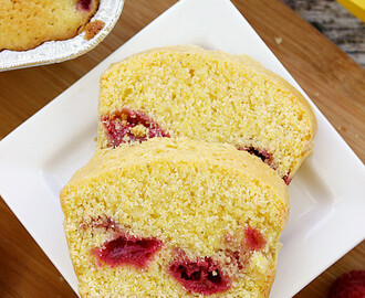 Dorie Greenspan's Cornmeal and Berry Cakes and A GIVEAWAY!