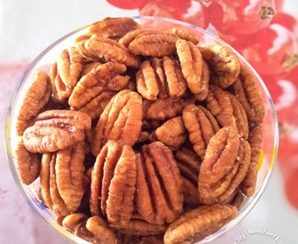 Roasted Pecans with Chinese Five-Spice Powder