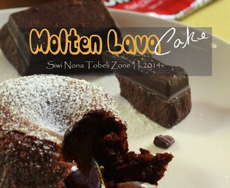 Molten Lava Cake, Callange YKMK 3 with Chefmate