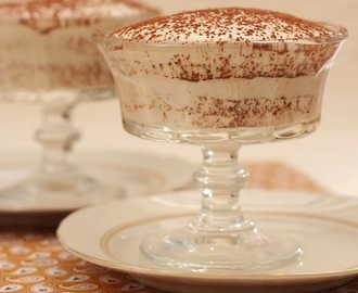 Gluten-free vegan tiramisu that is low in carbs and doesn't taste like coconut