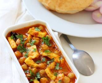 Chole Paneer Masala Recipe, How to make Chole Paneer