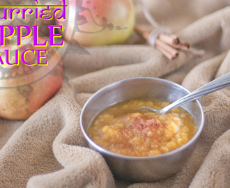Curried Apple Sauce
