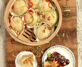 Barbecued chicken dim sum