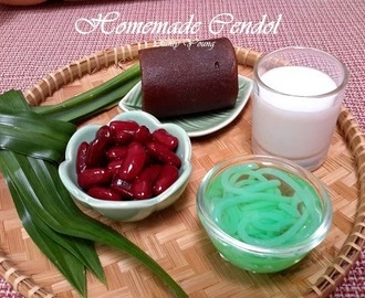 自制晶露(Homemade Cendol)