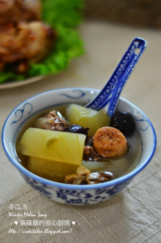 冬瓜汤 Winter Melon Soup