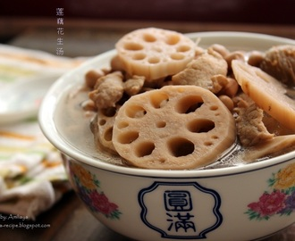 Lotus Root Peanut Soup 莲藕花生汤