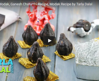 Chocolate Modak Recipe Video