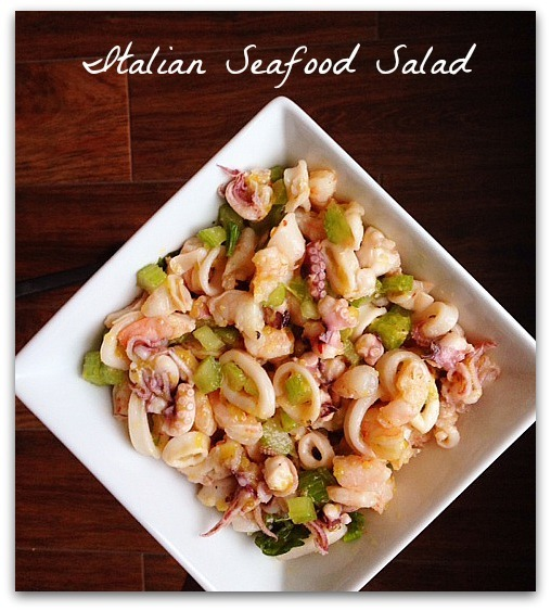 Foodie Friday: Italian Seafood Salad
