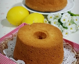 ▪ Lemon Honey Chiffon Cake ▪