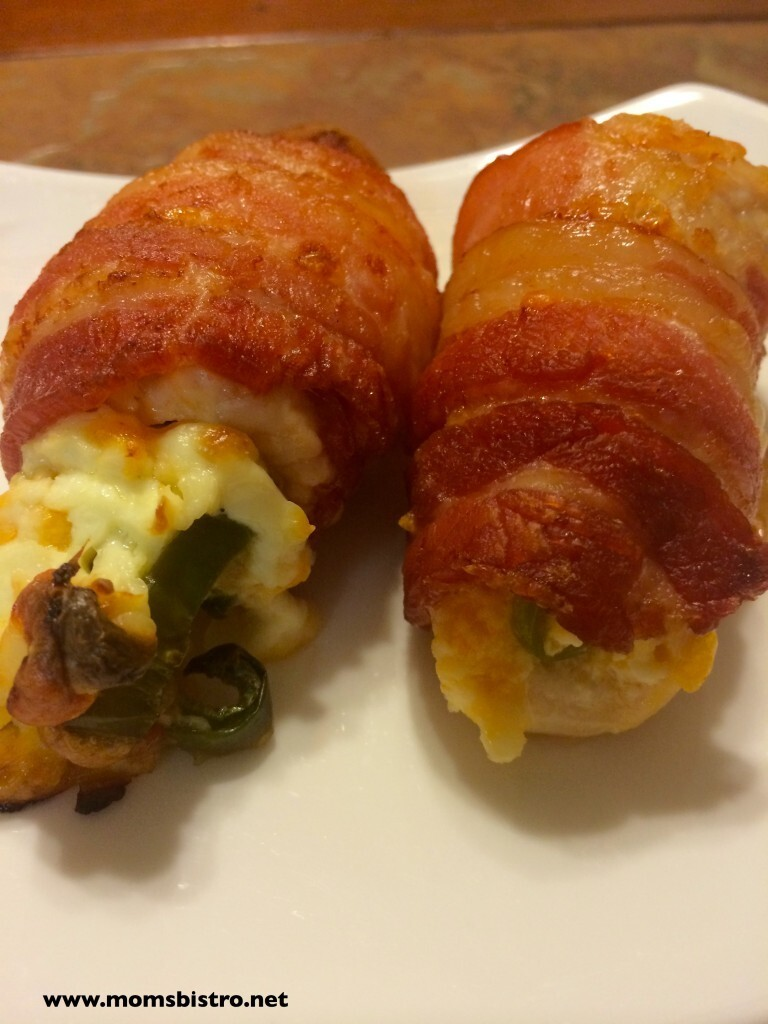 Easy Appetizer | Bacon Wrapped Jalapeño Popper Chicken Bites | Plus 3 More Jalapeño Popper Recipes