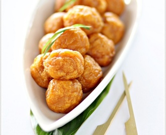 Fried Sweet Potato Balls 炸翻薯球