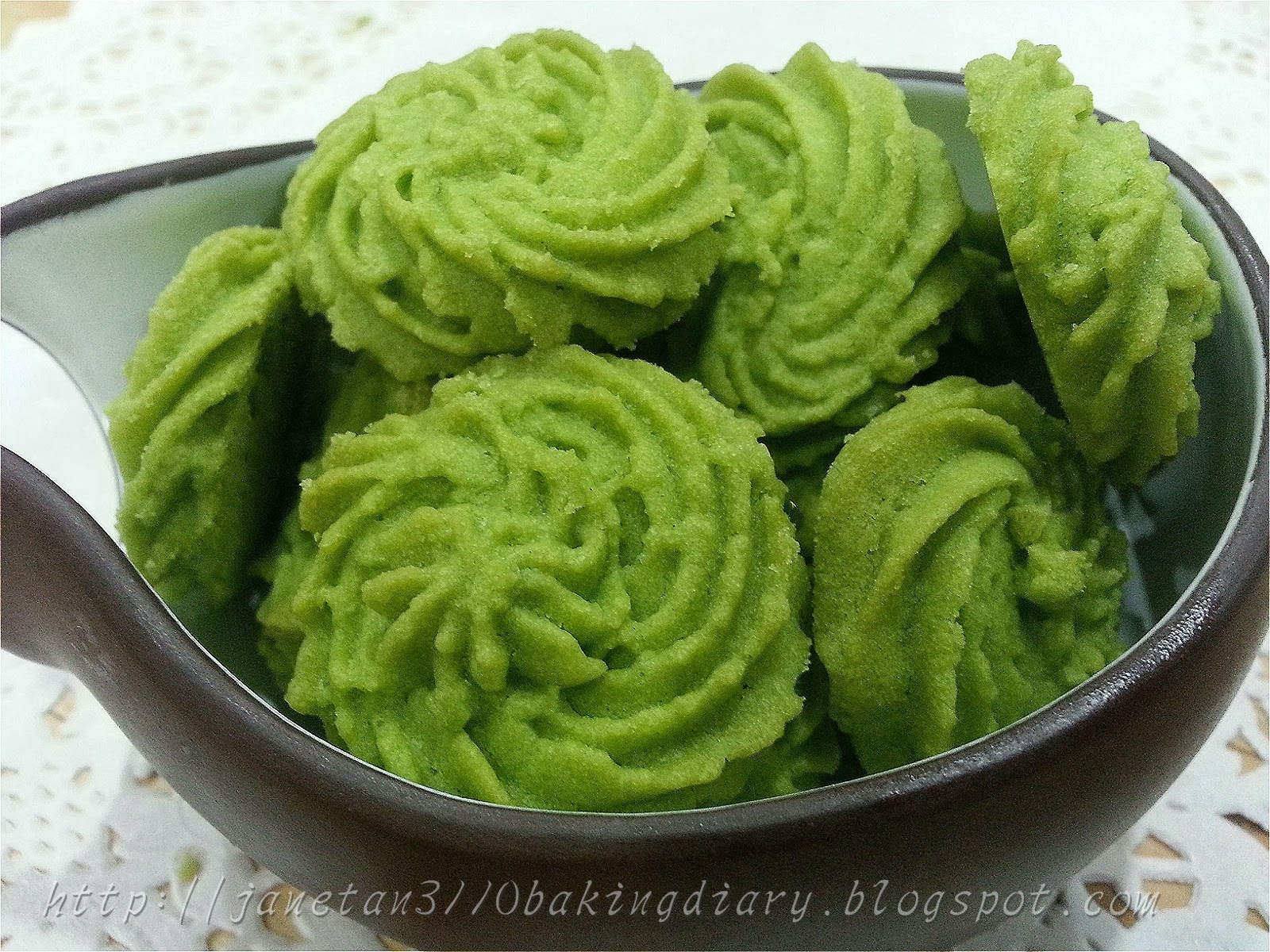 抹茶曲奇 / Green Tea Cookies