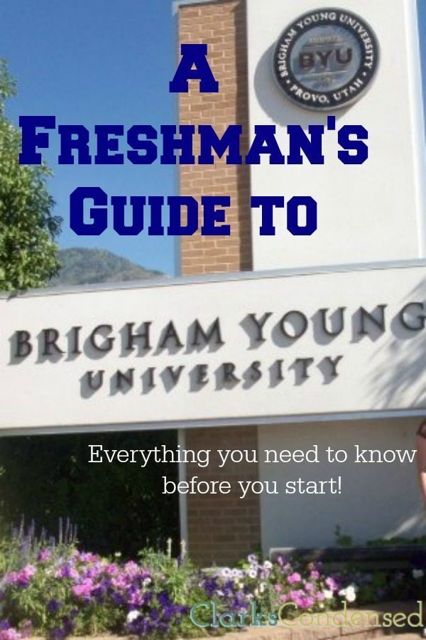 A Freshman's Guide to BYU