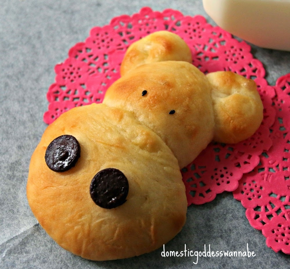soft hippo bread rolls | panasonic bread maker