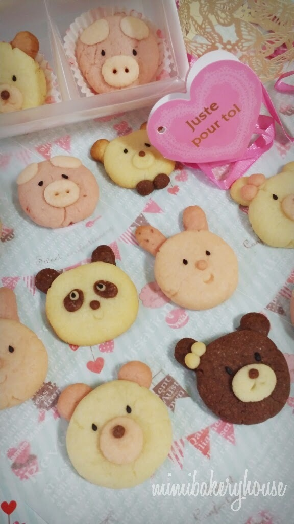 ▪ Cookies Zoo Series ▪ Teddy Bear ▪ Panda Bear ▪ Rabbit ▪ Pig ▪