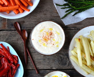 Roasted Vegetables with Aioli