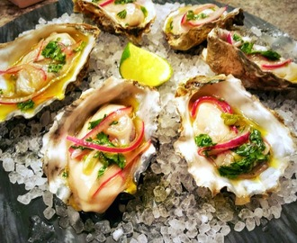 Ceviche Style Oysters