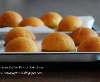Mexican Coffee Buns / Roti Buns 墨西哥咖啡面包
