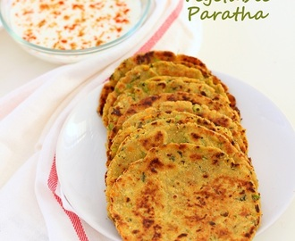 Vegetable Paratha Recipe, How to make Veg Paratha