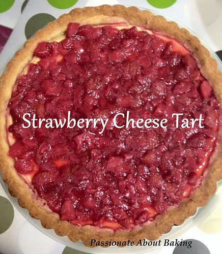 Strawberry Cheese Tart