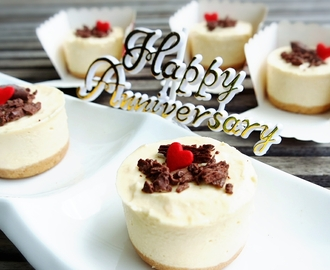 Non-bake Mini Durian Cheesecake - Blog's 2nd anniversary 免烤迷你榴莲芝士蛋糕 - 部落格两周年(中英食谱教程)